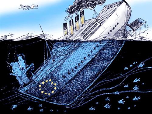 Bildergebnis für Bilder zu UNtergang Der EU
