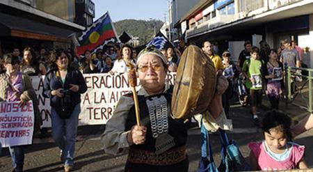mapuche-indianer