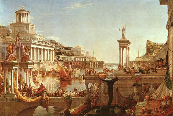 Römisches Reich Untergang