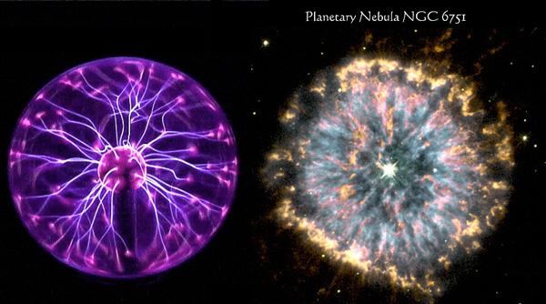 large electric plasma nebula ball - photo #14