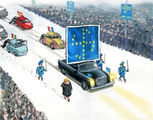 nazi-europa-marsch-kollone