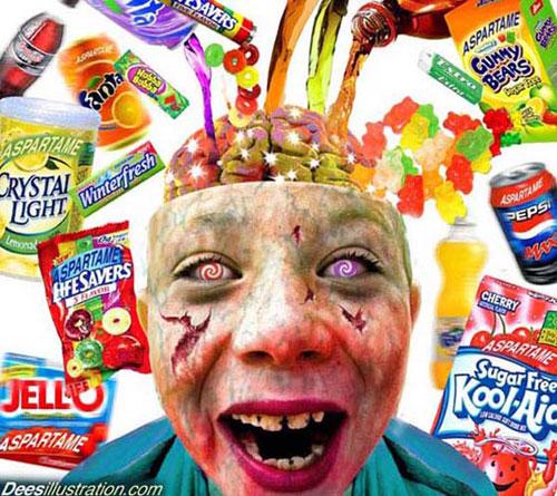 Aspartam ist Gift für dein Kind