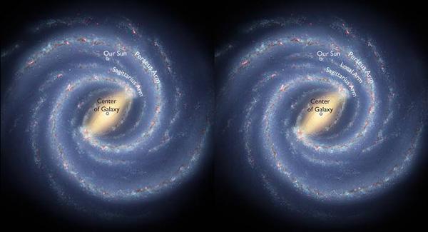 spiralarm-galaxie