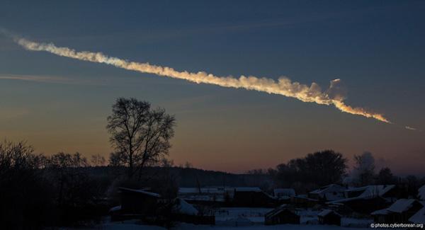 Tscheljabinsk-Meteorit
