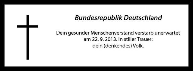 bundestagswahl-2013-trauer