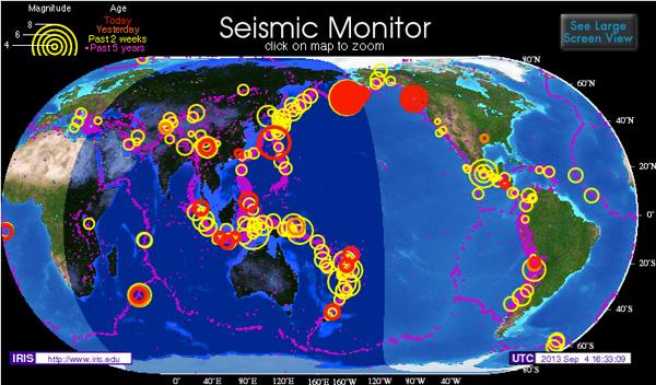 erdbebenserie