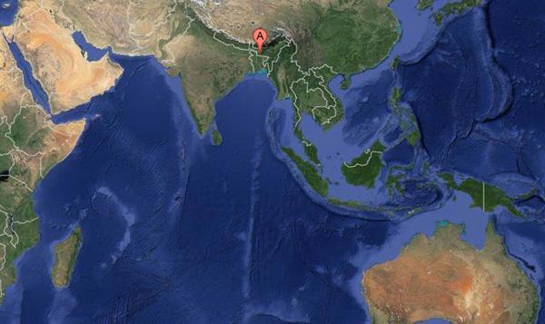Abstürzender Meteorit verursacht Panik in Bangladesch Meteorit-bangladesh