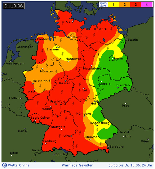 Image Result For Unwetterwarnung